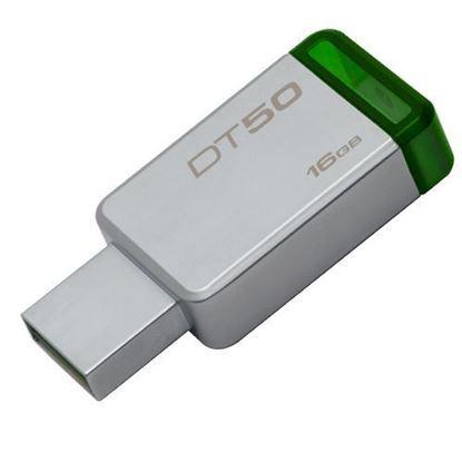 Imagen de PENDRIVE 16GB USB 3.0 KINGSTON DT50