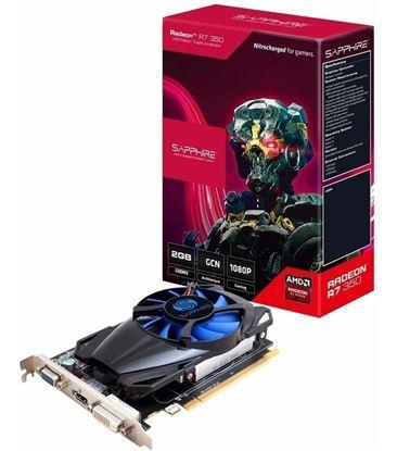 Imagen de PLACA DE VIDEO 2 GB RADEON R7 350 SAPPHIRE DDR5  HDMI / DVI-D / VGA