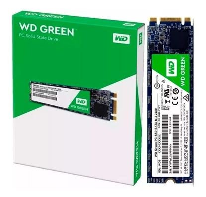 Imagen de SSD DISCO M2  480 GB WESTERN DIGITAL GREEN