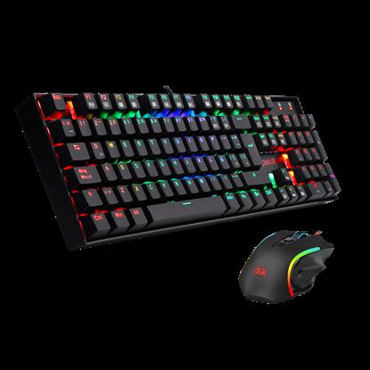 Imagen de REDRAGON GAMER K551 RGB MECÁNICO + M607 (TEC+MOUSE) USB